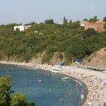 Вид на городской пляж Бетты
