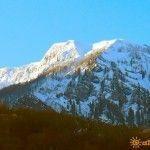 Вид на хребет Аибга