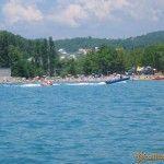 Вид на пляж Вардане