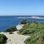 Вид на полуостров и остров Утриш