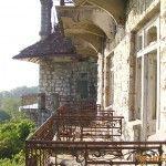 Вид с балкона дворца принца Ольденбургского