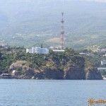 Вид с моря на Партенит