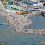 Вид с парашюта на Дивноморское