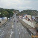 Вид с пешеходного перехода в Лермонтово