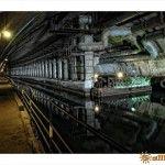 Внутри подземного завода