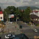 Перекресток улиц Павлова и Победы