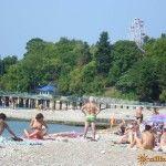 Замостянский пляж