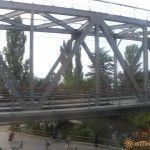 Жд мост в Вардане