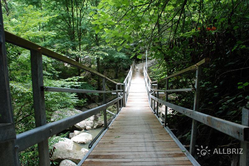 Мост на маршруте