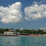 Феодосия. Городской пляж.