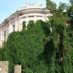 Место, где стоял дом, в котором останавливался А. Пушкин