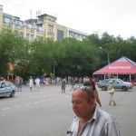 Привокзальная площадь в Феодосии