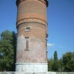 Старая водонапорная башня на станции «Темрюк»