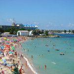 Вид на пансионат «Черноморский»