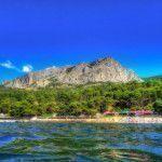 Вид на побережье в Форосе