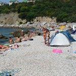 Дикий пляж в Форосе