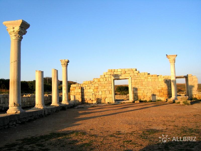 Греко-скифское городище «Калос-Лимен»
