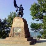 Памятник запорожским казакам в Тамани