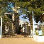 Вход в храм Пресвятой Богородицы в Тамани