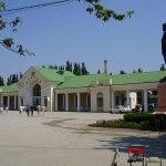 Жд вокзал в Феодосии