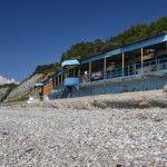 Пляж пансионата «Смена»