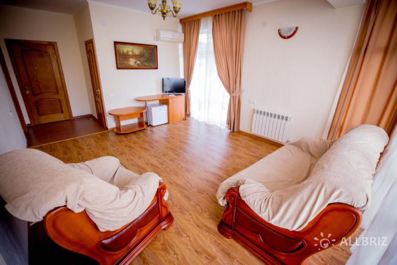 2х комнатный люкс с видом на море