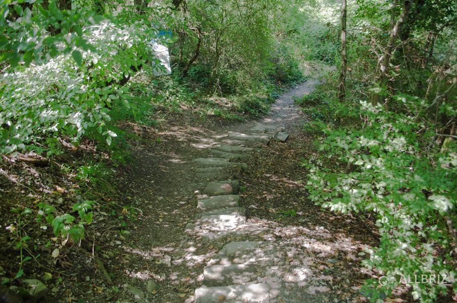 По дороге к Крабовому ущелью