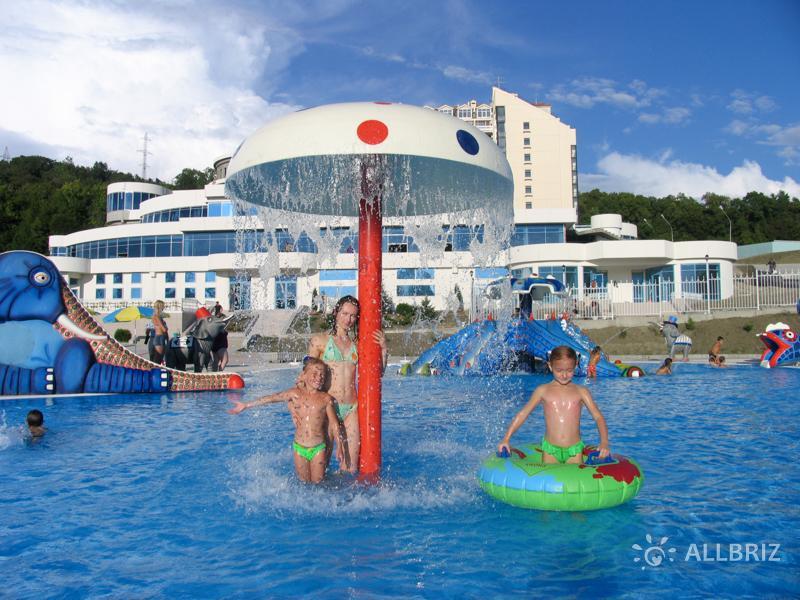 Аквапарк «Аквалоо». Детский бассейн.
