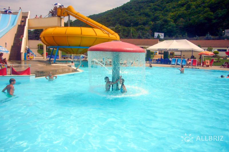 Аквапарк «Дельфин». Детский бассейн.