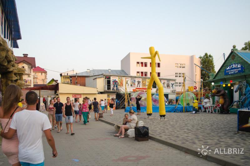 Парк культуры и отдыха в Лазаревском