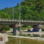 Жд мост через реку Цусхвадж