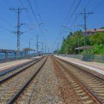 Железная дорога, вид в сторону Лазаревского