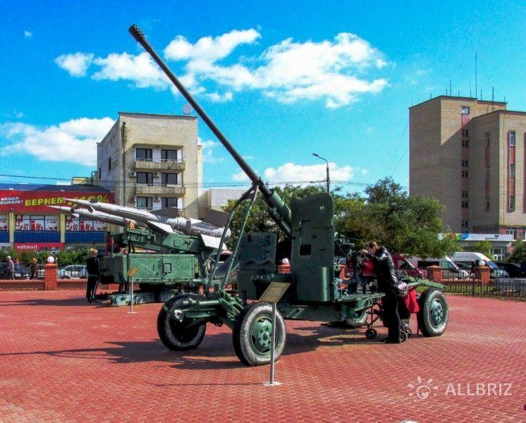 Музей военной техники под открытым небом
