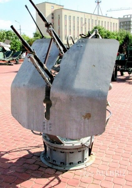 Музей военной техники в мемориальном комплексе «Красная горка»