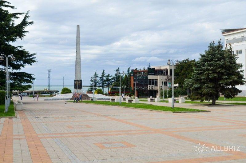 Площадь Октябрьской революции Туапсе