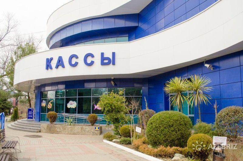 Вход в Адлерский океанариум «Sochi Discovery World Aquarium»