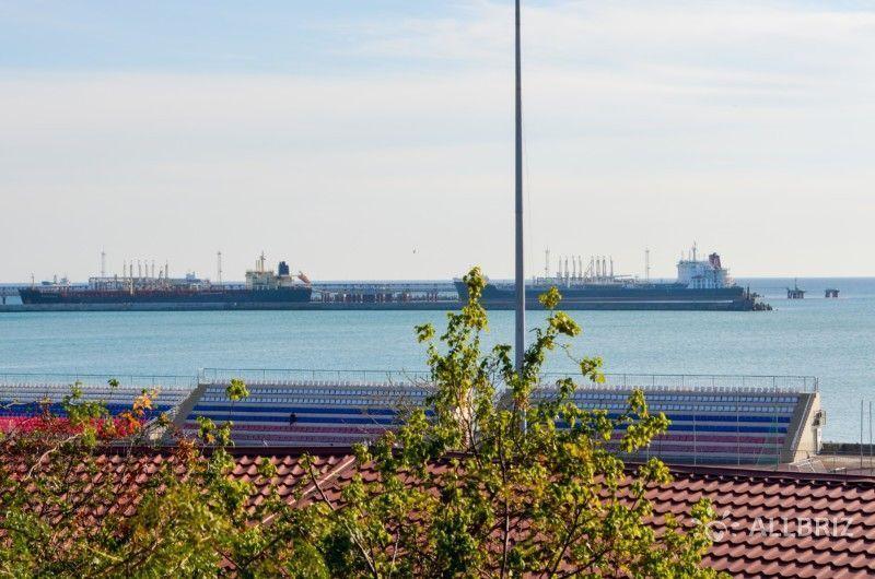 Вид со смотровой площадки горпарка Туапсе