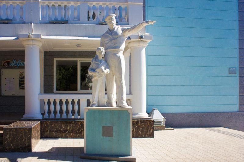 Скульптура «Максимка»