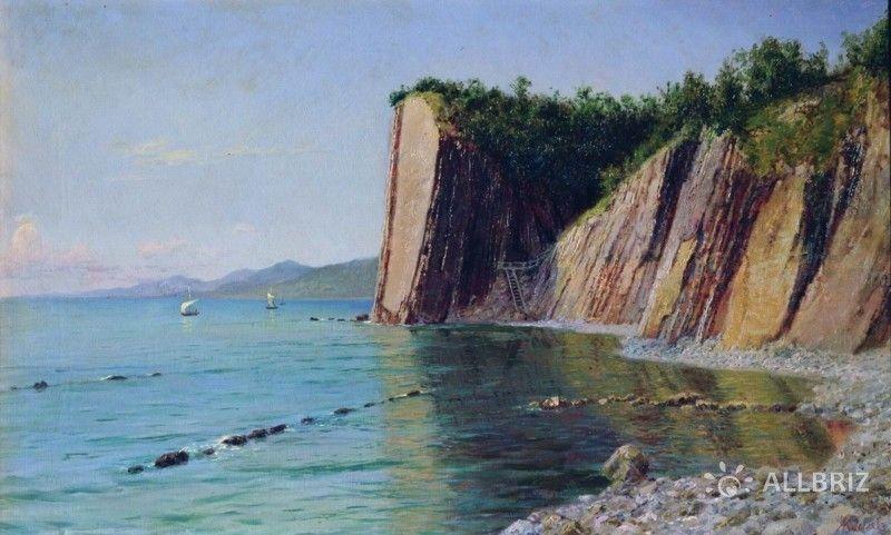 Картина А. Киселева «Кадошские скалы»