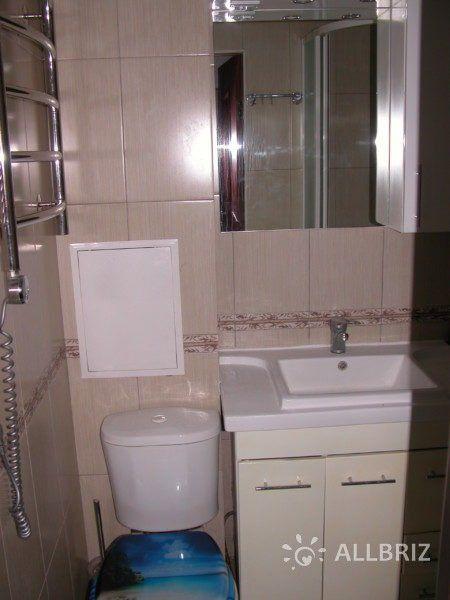 1 комнатная квартира - санузел