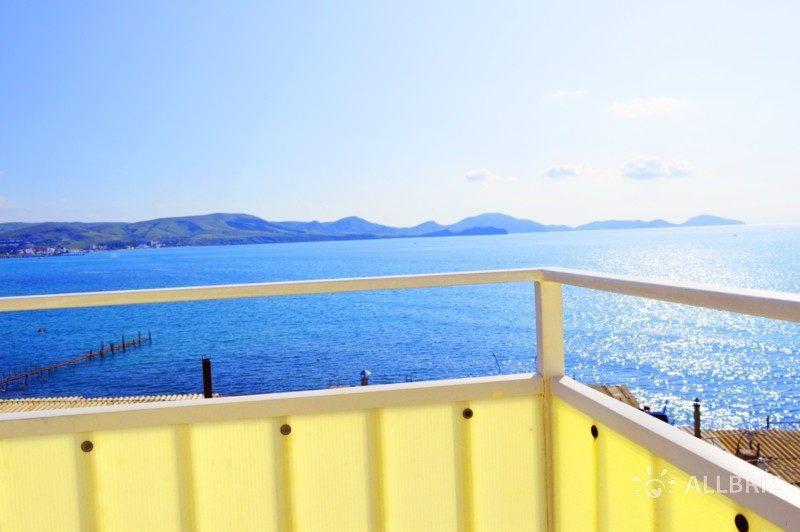 Двухкомнатный люкс балкон с видом на море - вид с балкона