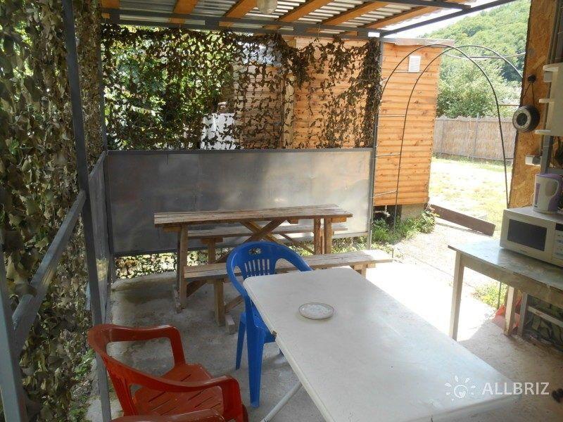 4х местный домик с удобствами