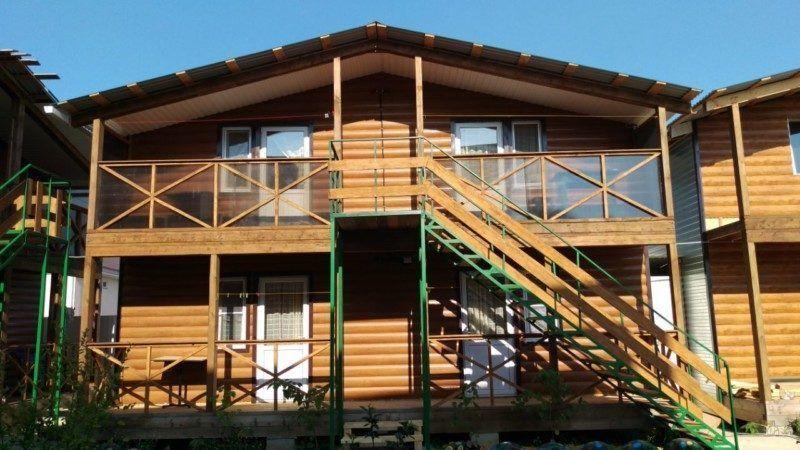 Наши новые деревянные домики