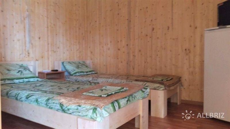 Двухместный номер в деревянном домике
