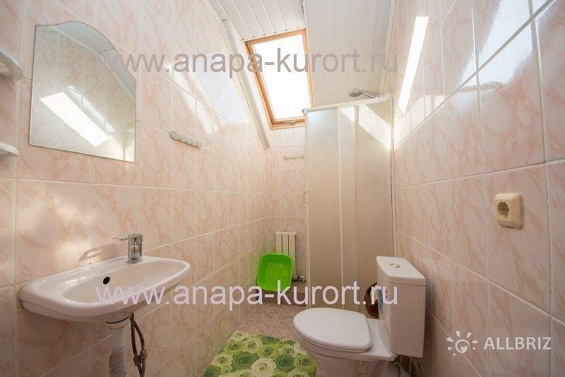 4х местный номер - душ и туалет