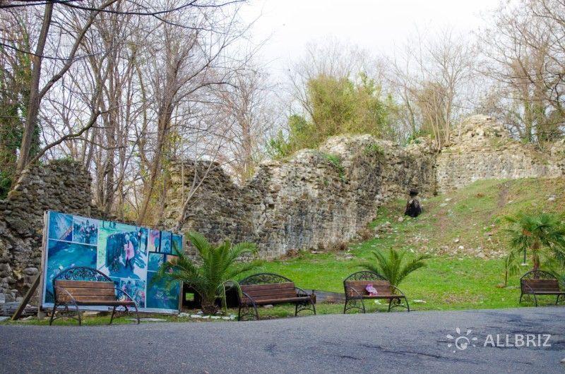 Византийская крепость в Волконке