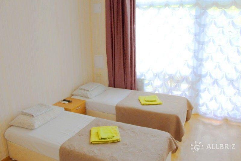 2х местный номер с раздельными кроватями