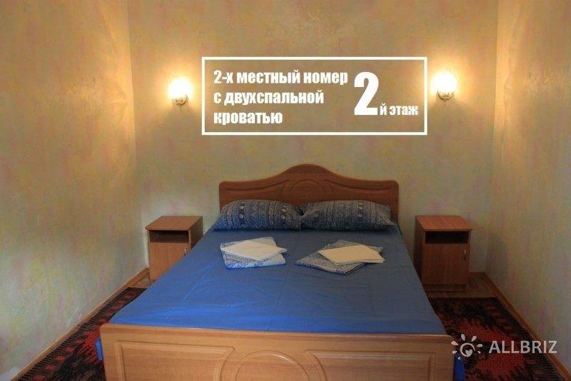 2х местный номер с двухспальной кроватью