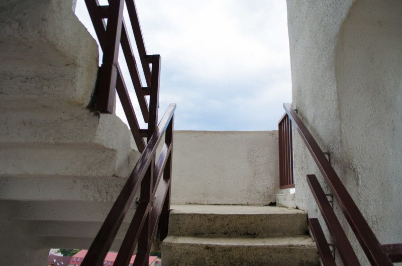 Лестница в верхней башне