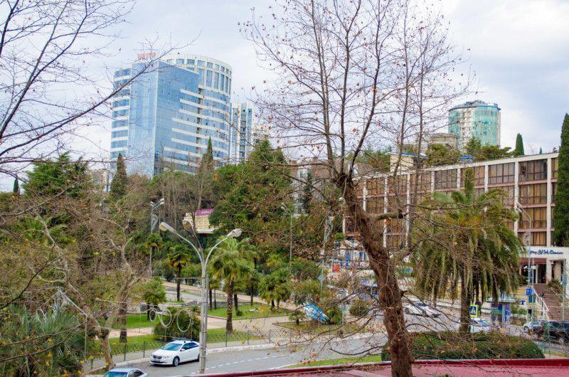 Вид на город с нижней башни